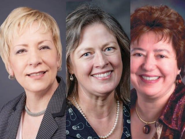 Debi Wilson, Libby Calnon, Meera Kohler